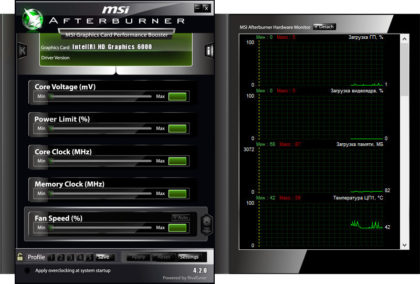 MSI Afterburner 4