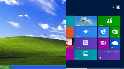 Windows 8 обогнала XP